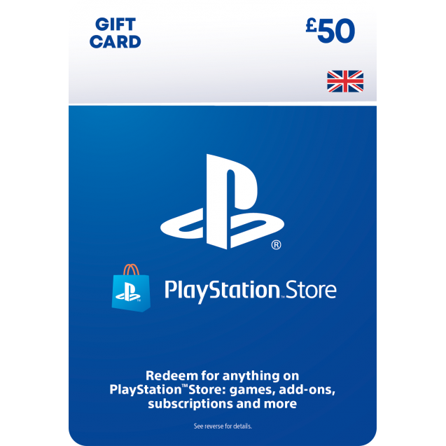 £50 PlayStation Store Gift Card