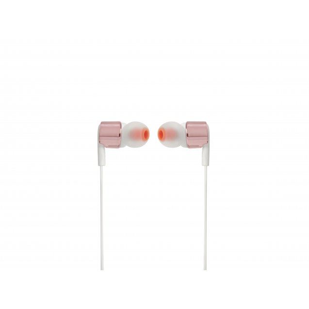 JBL Tune T210 In-Ear Headphones Rose Gold