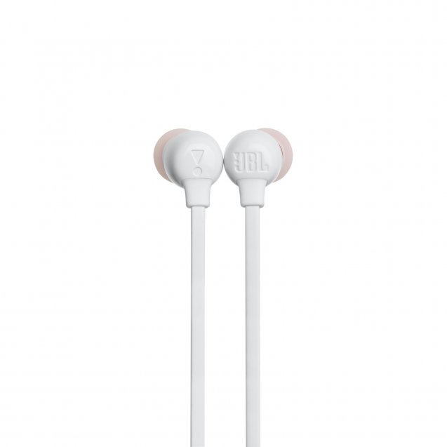 JBL by Harman Tune 115 BT Wireless Bluetooth Earphones White