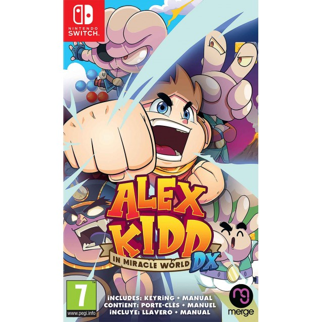 Alex Kidd in Miracle World DX NSW