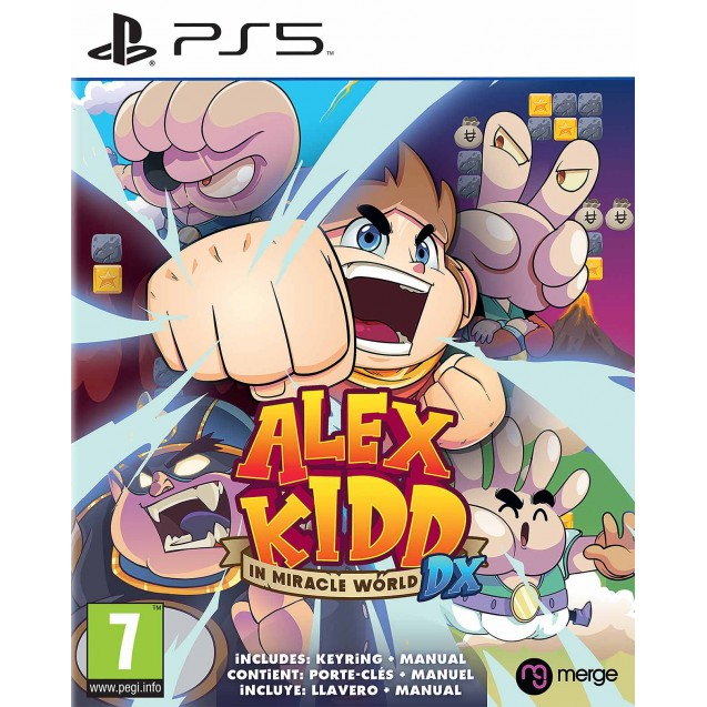 Alex Kidd in Miracle World DX PS5