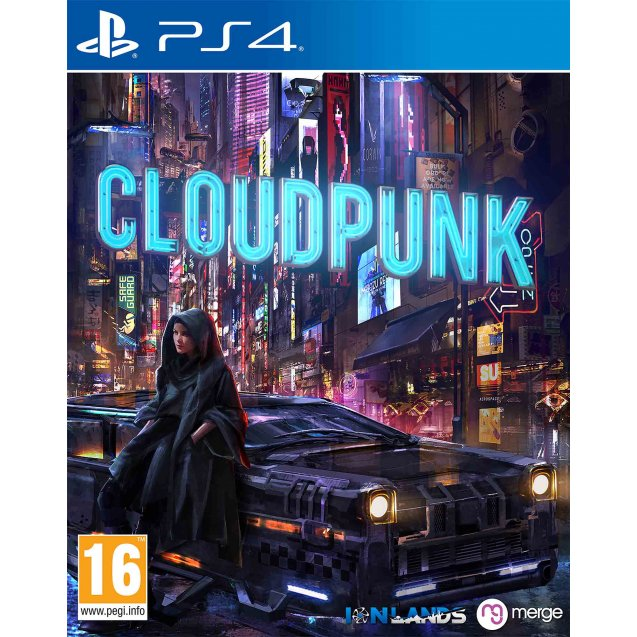 Cloudpunk PS4