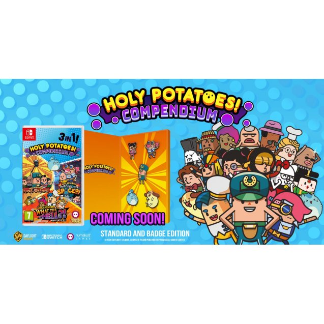 Holy Potatoes Compendium Badge Collector's Edition