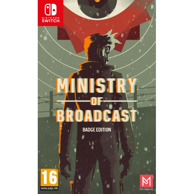 Ministry of Broadcast Badge Collector's Edition Switch