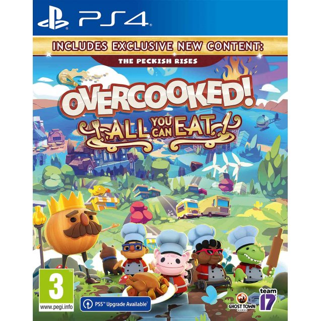 Overcooked! All You Can Eat PS4