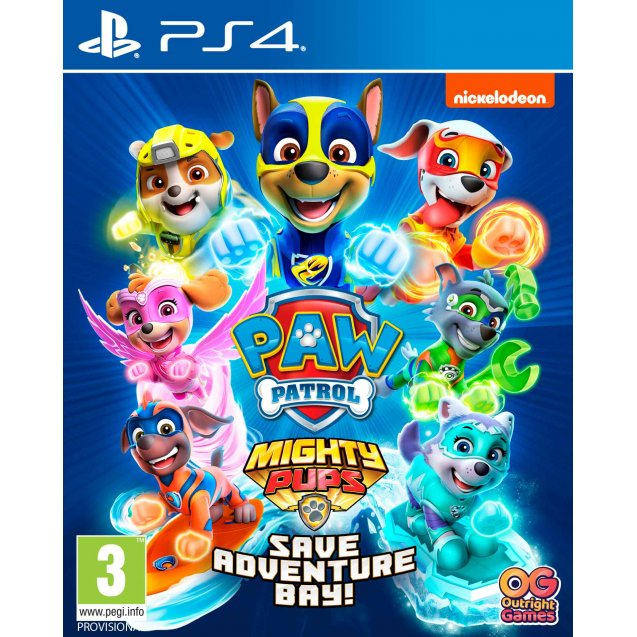 PAW Patrol 2 Mighty Pups Save Adventure Bay PS4