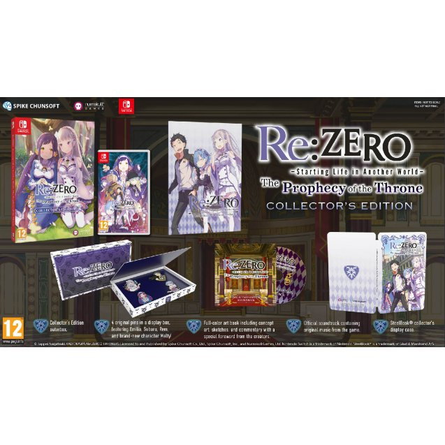 Re:ZERO - The Prophecy of the Throne Collector's Edition NSW