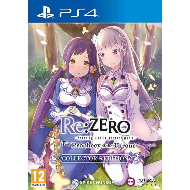 Re:ZERO - The Prophecy of the Throne Collector's Edition PS4