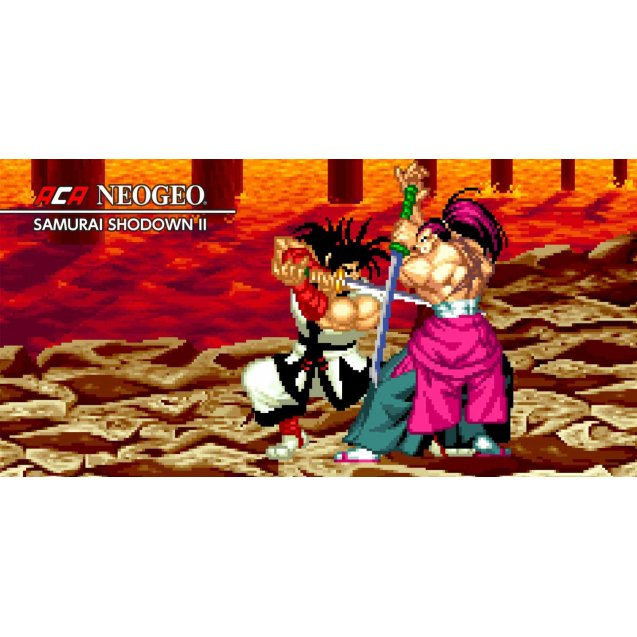 Samurai Shodown NeoGeo Collection Switch