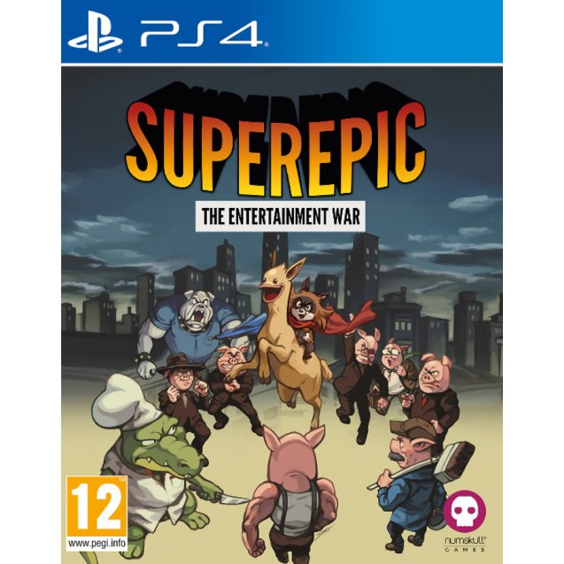 SuperEpic: The Entertainment War PS4