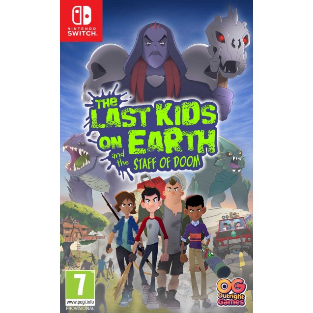 The Last Kids on Earth and the Staff of Doom NSW