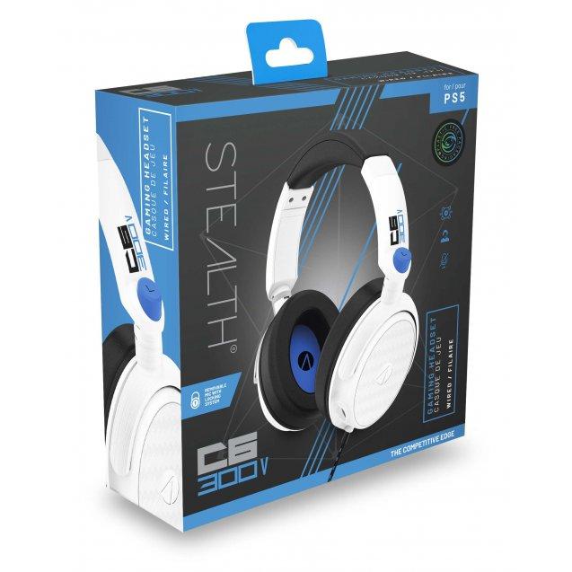 STEALTH C6-300V Stereo Gaming Headset (White)