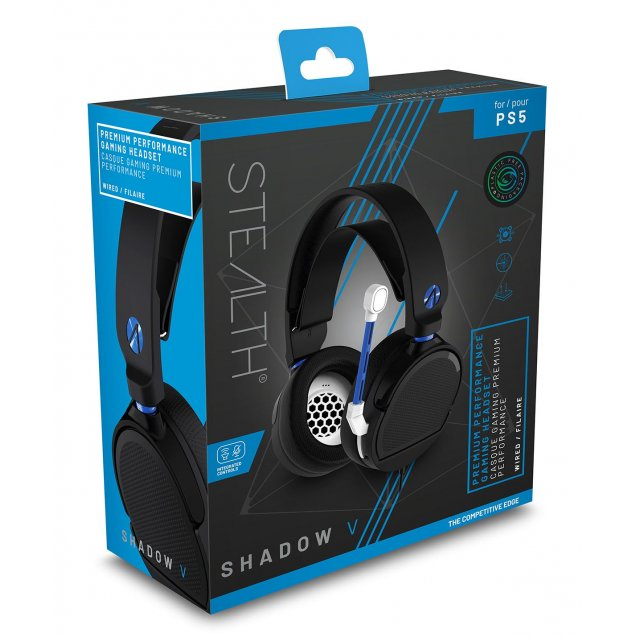 STEALTH SP-Shadow V Stereo Gaming Headset (Black)