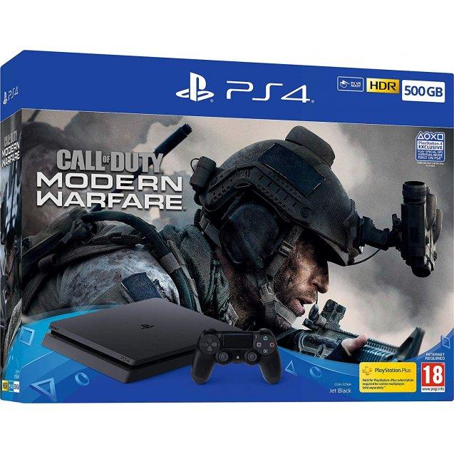 Sony Playstation 4 500GB Call of Duty Modern Warfare bundle