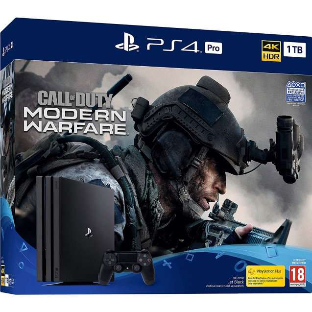 Sony Playstation 4 1TB PRO Call of Duty Modern Warfare bundle