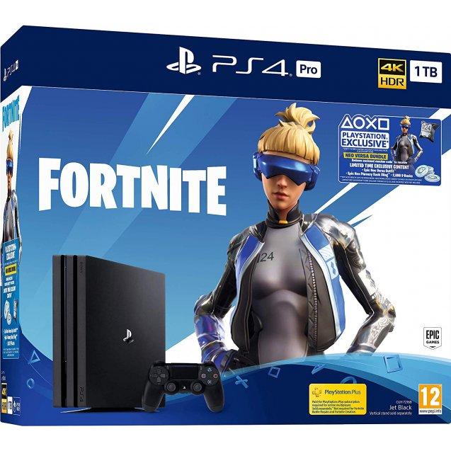 Playstation 4 PRO 1TB + Fortnite Neo Versa Bundle