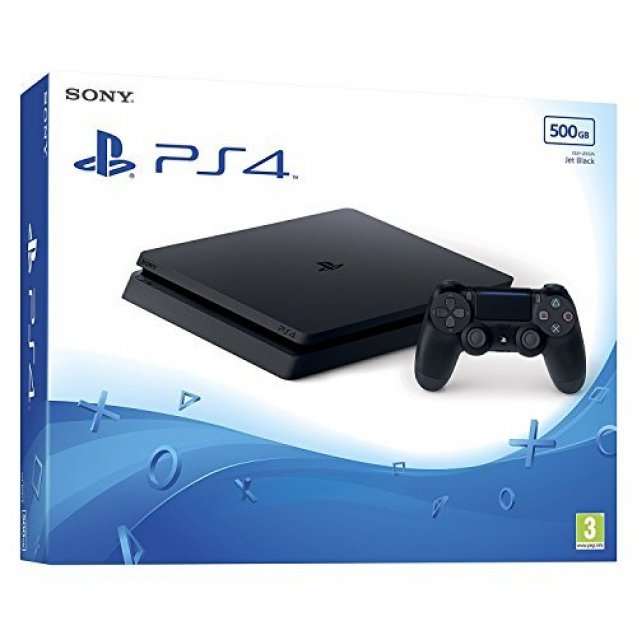 Sony PlayStation 4 500GB Black Console