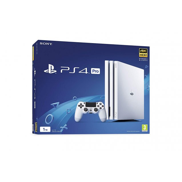 Sony PlayStation 4 Pro Console White 1TB