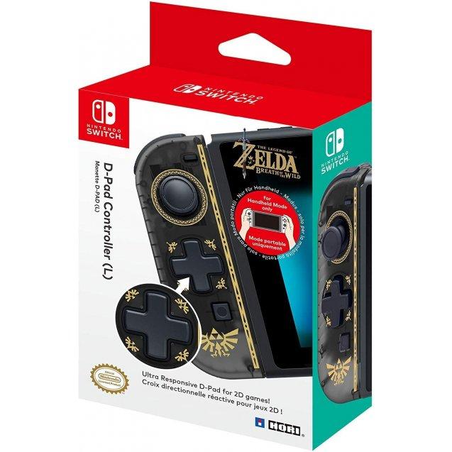 HORI - Nintendo Switch D-Pad Controller (L) Zelda Breath of the Wild Edition
