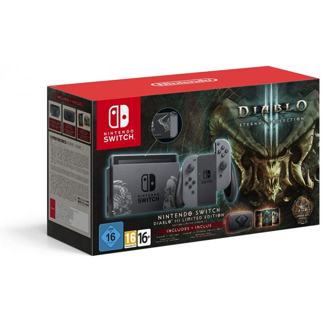 Nintendo Switch Diablo III Limited Edition Console