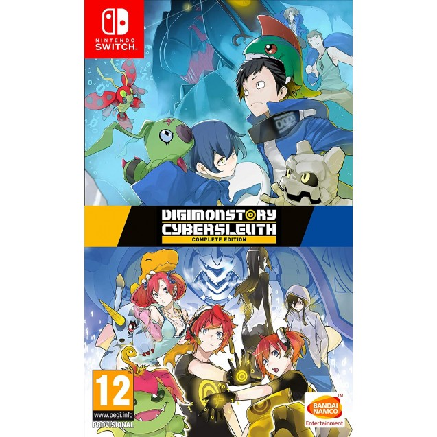 Digimon Cybersleuth & Hackers Memory Edition NSW