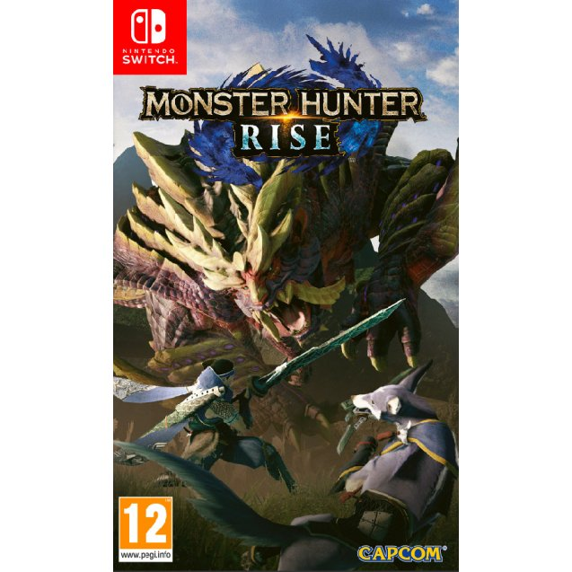 Monster Hunter Rise Collector's Edition NSW