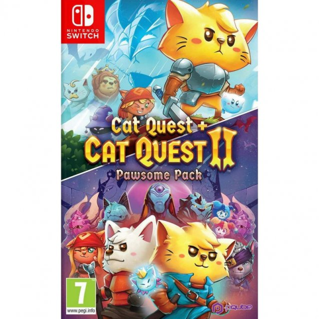 Cat Quest + Cat Quest 2 Pawsome Pack NSW