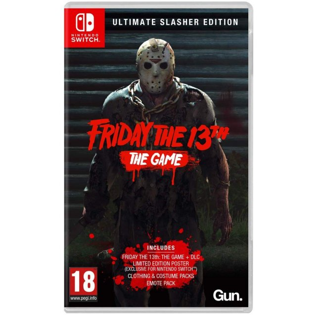 Friday the 13th: The Game - Ultimate Slasher Edition NSW