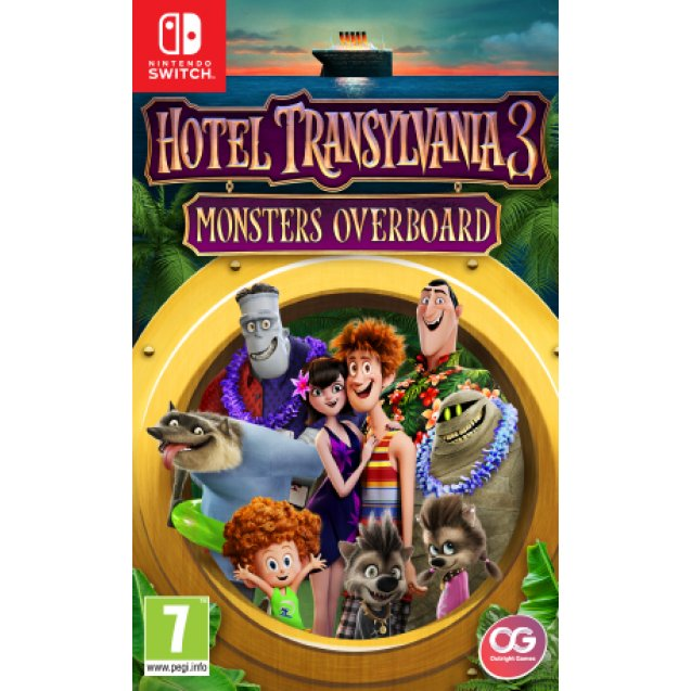 Hotel Transylvania 3: Monsters Overboard + Travel Case  NSW