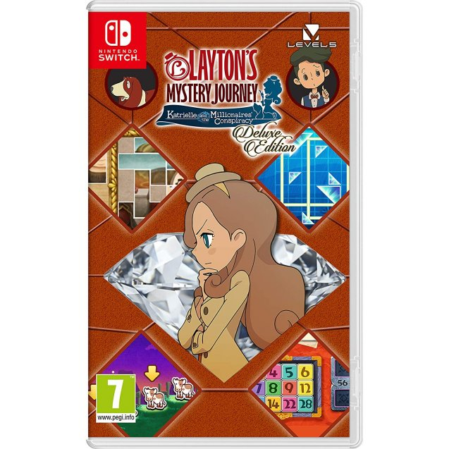 Layton's Mystery Journey Katrielle and the Millionaire's Conspiracy Deluxe Edition NSW