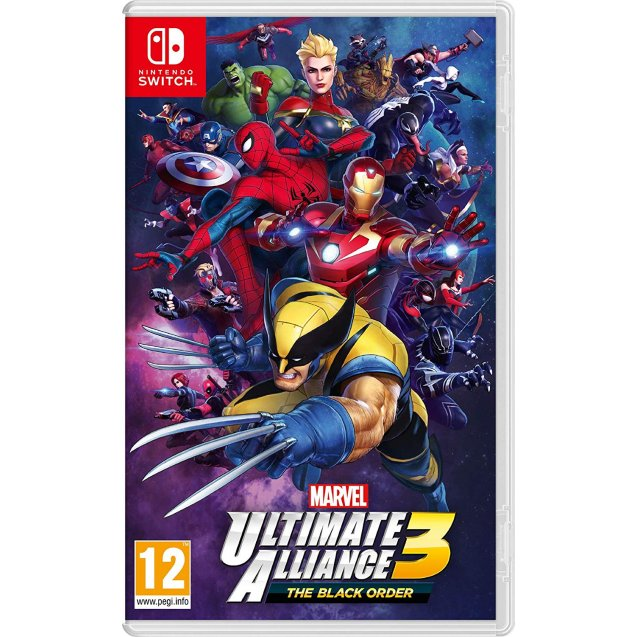 Marvel Ultimate Alliance 3 The Black Order NSW