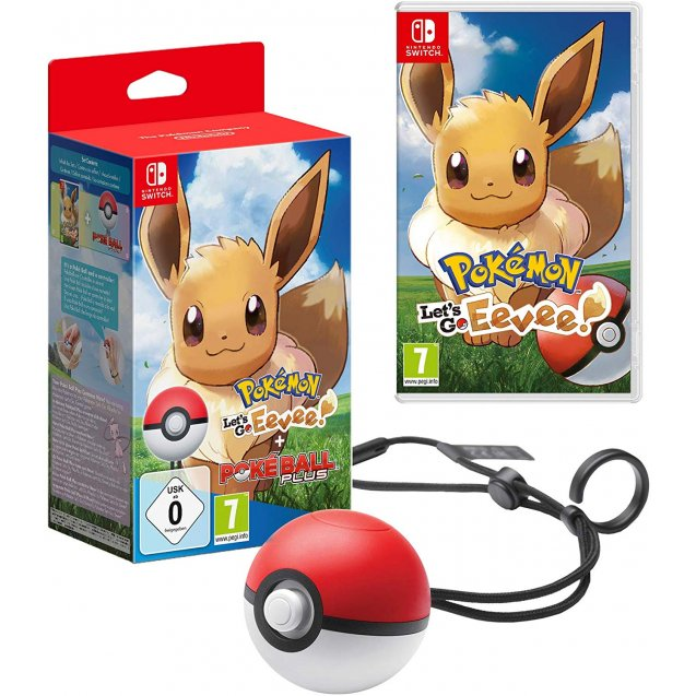 Pokémon: Let's Go, Eevee! Including Poké Ball Plus NSW