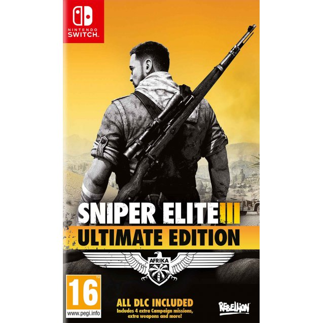 Sniper Elite 3 Ultimate Edition NSW