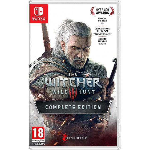 The Witcher 3 Wild Hunt Complete Edition NSW