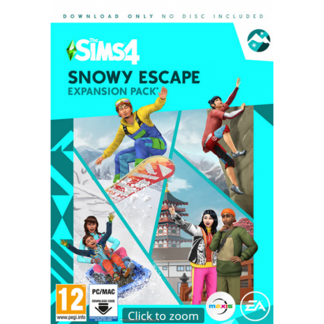 The Sims™ 4 Snowy Escape Expansion Pack (PC/MAC)