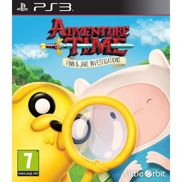 Adventure Time: Finn and Jakes Investigations PS3