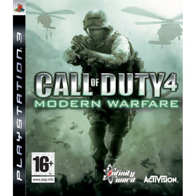 Call of Duty: 4 Modern Warfare  PS3
