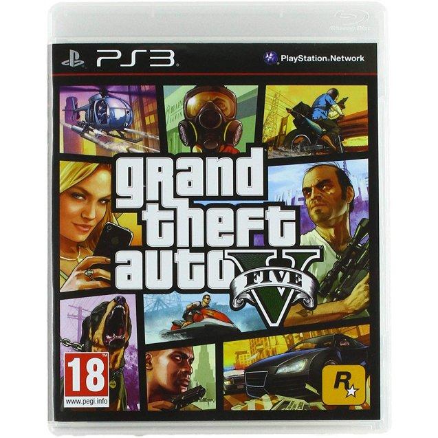 Grand Theft Auto 5 GTA V 5 PS3
