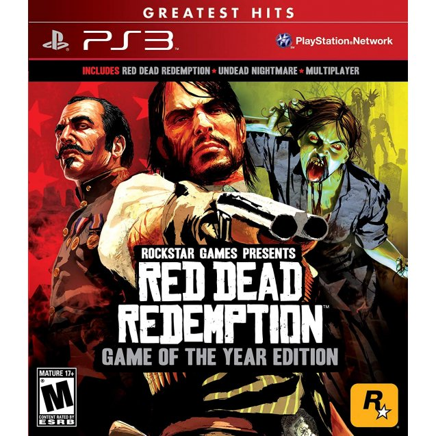 Red Dead Redemption GOTY Greatest Hits PS3