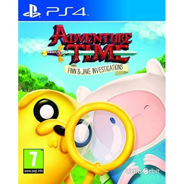 Adventure Time: Finn and Jakes Investigations PS4