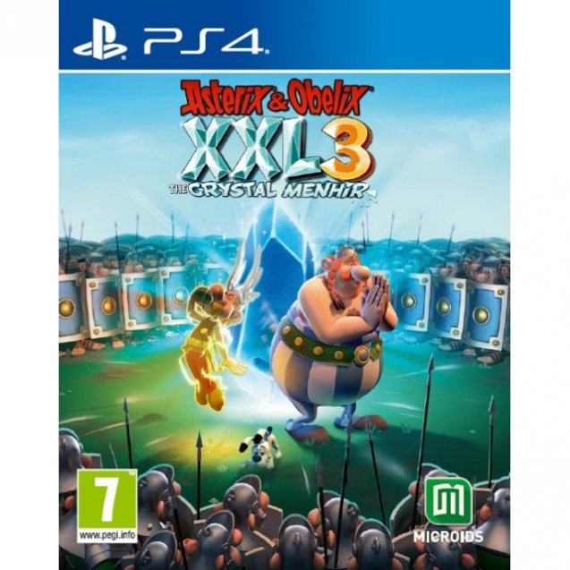 Asterix & Obelix XXL 3: The Crystal Menhir PS4