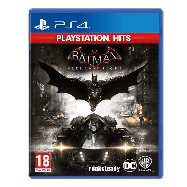 Batman: Arkham Knight PlayStation Hits PS4