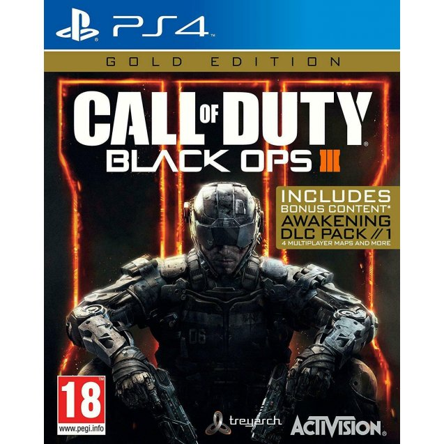 Call Of Duty Black Ops III 3 Gold Edition PS4