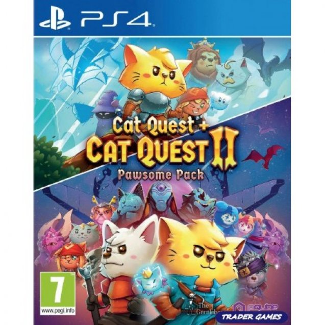 Cat Quest + Cat Quest 2 Pawsome Pack PS4