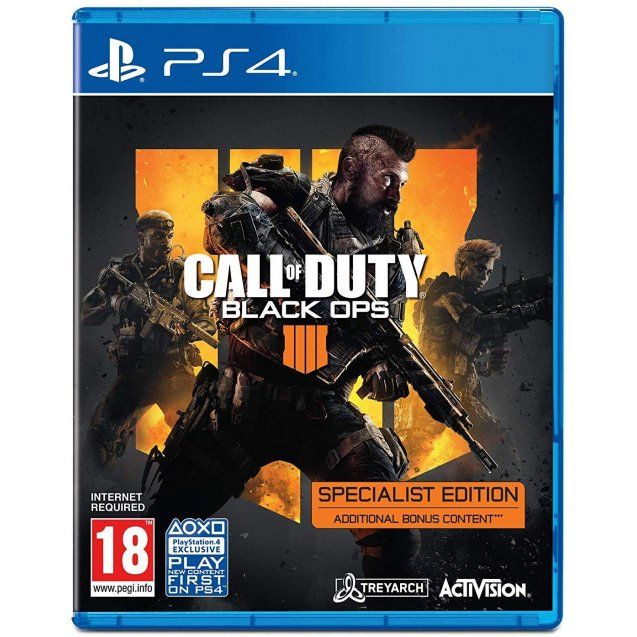Call of Duty Black Ops 4 - Specialist Edition PS4
