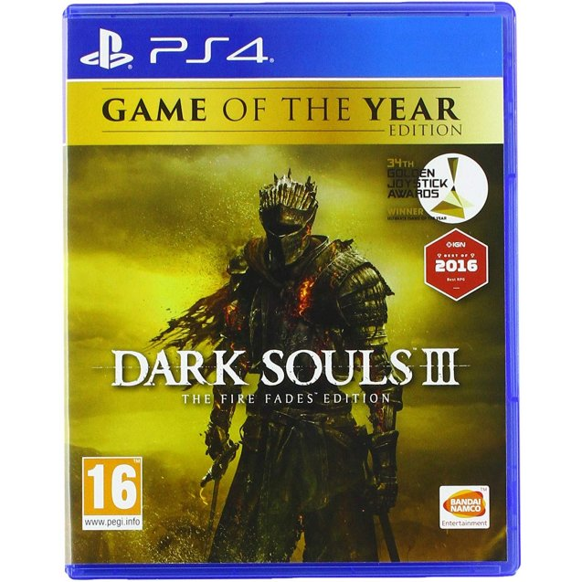 Dark Souls 3 The Fire Fades PS4