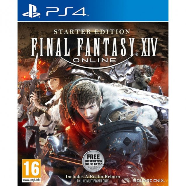Final Fantasy XIV Starter Edition PS4