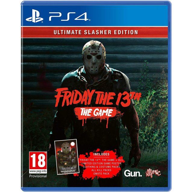 Friday The 13th Game Ultimate Slasher Edition PS4