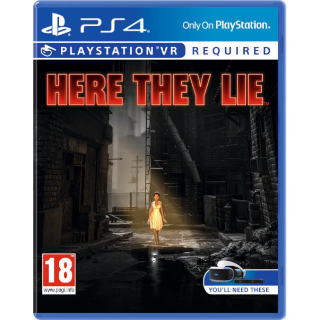 Here They Lie PSVR
