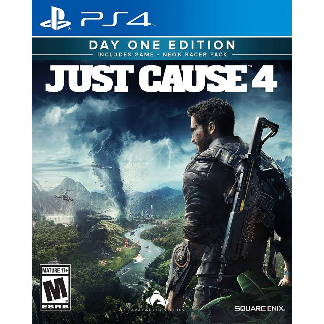Just Cause 4 Day One Limited Edition PS4